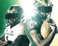 CSU Football Green & Gold Spring Poster 2017