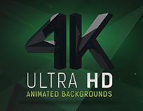 4k Ultra HD Animated Background