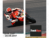 Trackdays x Graphic Design