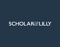 Scholar & Lilly - Logo for PR agency
