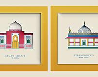 Nizamuddin Map Design