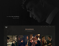 Peaky Blinders, concept, website