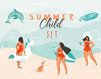 Summer Child set