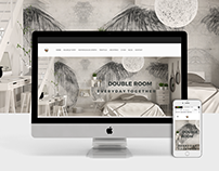 Web Design | Double Room