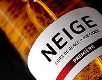 Neige Ice Cider - Brand Identity & Packagings