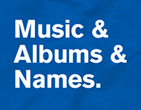 Music & Albums & Names