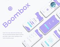 Concept Design iPhone Music Player app