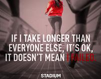 stadium me - social media posts
