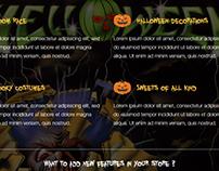 Helloween html responsive template