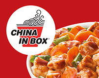 China in Box Menu