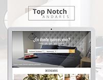 TopNotch Andares   Web Design