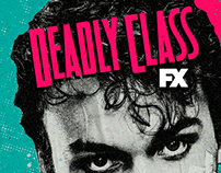 Social media - Deadly Class - Canal FX
