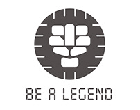 Be A Legend logo animations