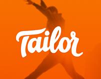 UX/UI Design App - Tailor