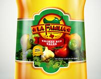 La Familia Salsa Company Logo
