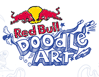 Red Bull Doodle Art 2017