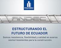 Andec - Acero ecuatoriano
