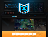 [eSports Redesign] Proguides.com Website