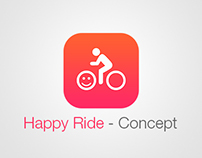 Happy Ride - Bicycle sharing App