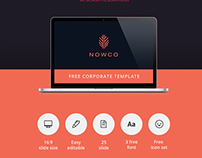 NOWCO // Free PowerPoint presentation template