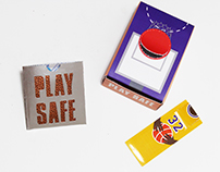 Play Safe: HIV awareness packaging