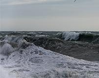 la mareggiata di lunedì: il mare / rough seas
