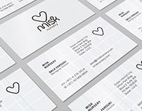 Stationery and Brochure | Misk Nursery