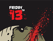 Friday the 13th Poster design