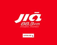 JIA 88.3 FM - Web design ( UI/UX )