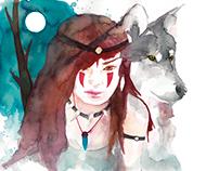 Mononoke brave woman