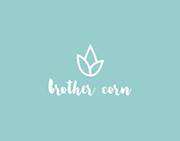 brother corn Handmade Gifts and Crafts Shop Branding