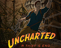 Uncharted 4 Retro Art