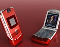3D Rendering: Motorola RAZR