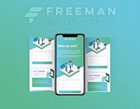 Freeman Health Group - Landing Page Demo