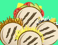 LA VIDA - LA AREPA                     MOTION GRAPHIC