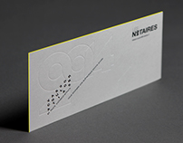 Les Notaires - Brand Identity