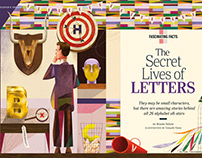 The Secret Life of Letters