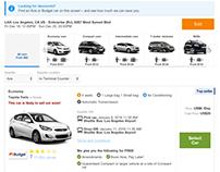 Rentalcars.com responsive study