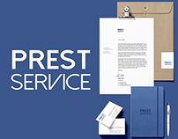 PROJECT: Branding for Prest Service
