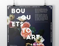 Event Poster / Bouquets to Art