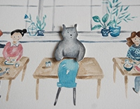 """Oso"" Picture book by Lujan Cordaro"