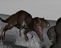 Tiny Vs T-REX Animation