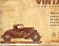 VINTAGE CAR EVENT ILLUSTRATIONS