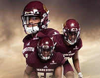 TXST Media Guide Covers