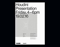 Houdini Presentation A1 Poster