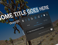 Text edit tool