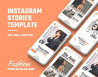 Fashion Social Media Stories Template