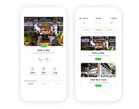 Larder app redesign | menu & details