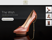 Shov Shoes: Responsive website