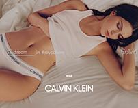 CALVIN KLEIN Web Redesign Concept.